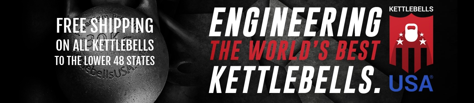 Free Shipping on all Kettlebells USA Kettlebells