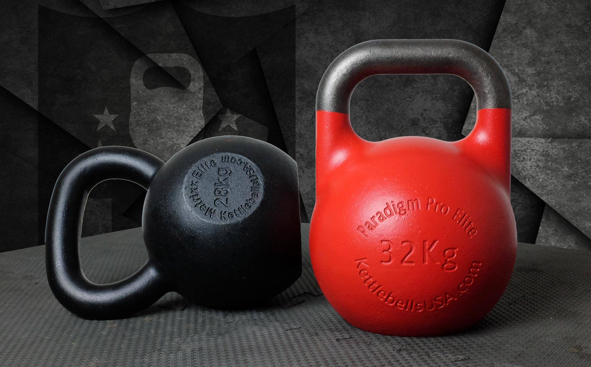 Kettlebells USA® Engineers The World's Finest Cast Iron E-Coat Kettlebell and Steel Competition Kettlebells - ISO 9001 Quality - Free Shipping - Discount Kettlebells